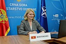 <p>министарка одбране Оливера Ињац</p>