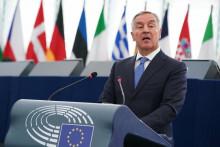 <p>Ђукановић у Европском парламенту</p>