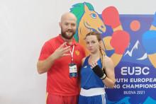 <p>Да се зна: Бојана и селектор Ружић показују да је ово четврта титула</p>