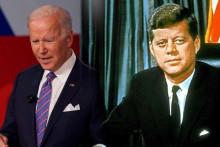 <p>Бајден и Кенеди</p>