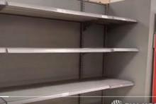 <p>Празни рафови у британским супермаркетима</p>