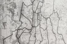 <p>Границе Општине у оквиру Главног града - Голубовци</p>