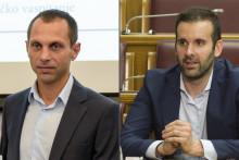 <p>Бојан Машановић и Милојко Спајић</p>
