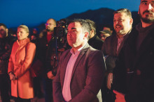 <p>СДП, Цетиње, Белведер предизборни скуп</p>