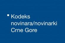 <p>Кодекс новинара Црне Горе (Илустрација)</p>
