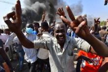 <p>Протести у Судану</p>